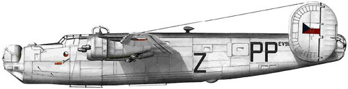 Consolidated B-24 Liberator/PB4Y Privateer | ex RAF EV995 | Z/PP