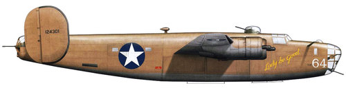 Consolidated B-24 Liberator/PB4Y Privateer | 41-24301 | 64