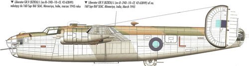 Consolidated B-24 Liberator/PB4Y Privateer | BZ826, 42-63849 | L