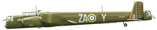 Armstrong Whitworth AW.38 Whitley | Z9162 | ZA-Y