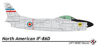 North American F-86D/K/L/F-95A Sabre Dog | s/n.14325