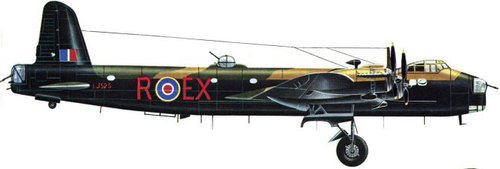Short Stirling | LJ525 | EX-R