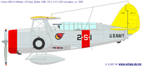 Curtiss SBC Helldiver | BuNo.1288 | 2-S-1