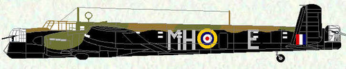 Armstrong Whitworth AW.38 Whitley | MH-E