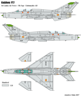 MiG MiG-21/J-7 Fishbed/Mongol | CTF703