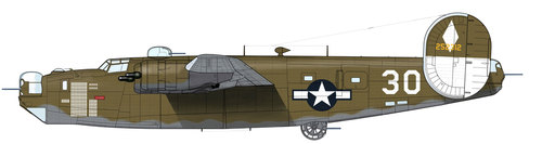 Consolidated B-24 Liberator/PB4Y Privateer | 42-52312 | 30