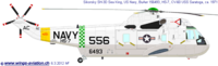 Westland S-61/H-3 Sea King/Commando | BuNo.156493 | 556/AC