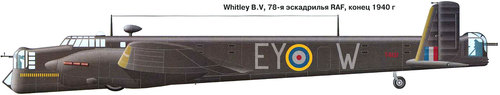 Armstrong Whitworth AW.38 Whitley | T4131 | EY-W