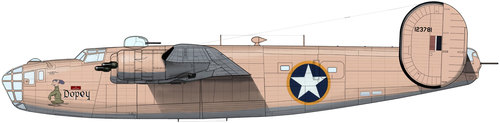 Consolidated B-24 Liberator/PB4Y Privateer | 41-23781