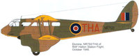 de Havilland DH.84/89/90 Dragon/Dragon Rapide/Dominie | NR750 | THA