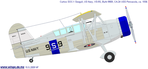 Curtiss SOC Seagull | BuNo.9909 | 9-S-9