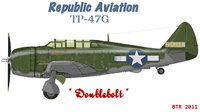 Republic P-47 Thunderbolt | 42-25268 | 225268