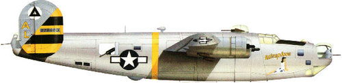 Consolidated B-24 Liberator/PB4Y Privateer | 42-78600 | AL