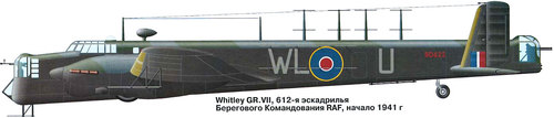 Armstrong Whitworth AW.38 Whitley | BD622 | WL-U