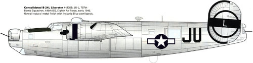 Consolidated B-24 Liberator/PB4Y Privateer | 448355 | JU/L
