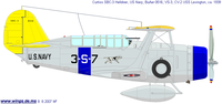 Curtiss SBC Helldiver | BuNo.0516 | 3-S-7
