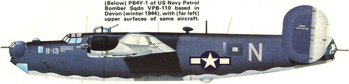 Consolidated B-24 Liberator/PB4Y Privateer | B-13 | N