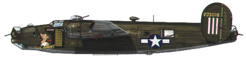 Consolidated B-24 Liberator/PB4Y Privateer | 42-73016