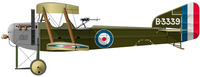 Armstrong Whitworth FK.8 Big Ack | B3339