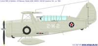 Curtiss SBC Helldiver | BuNo.4204 | 2-W-2