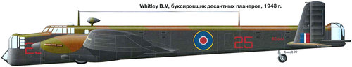 Armstrong Whitworth AW.38 Whitley | BD661 | 25
