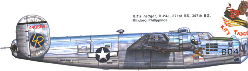 Consolidated B-24 Liberator/PB4Y Privateer | 44-40604 | 604/LR