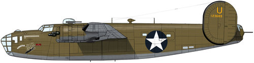 Consolidated B-24 Liberator/PB4Y Privateer | 41-23689 | D/X