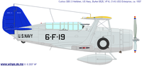 Curtiss SBC Helldiver | BuNo.0525 | 6-F-19